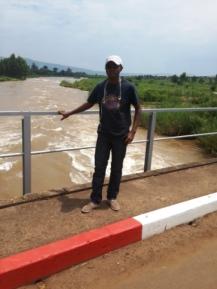 La riviere ruzizi dans sa beauté